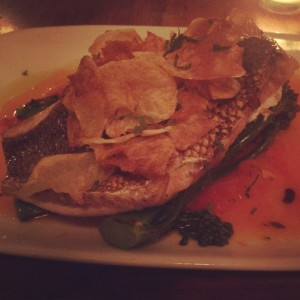 Mermaid Inn Grilled Dorade