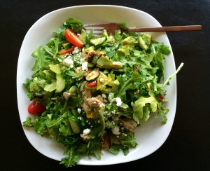 arugula chicken salad