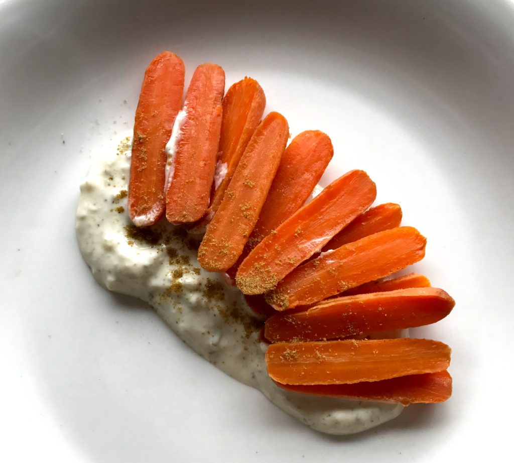 IMG 0372 1024x922 - Roasted Carrots with Spiced Yogurt