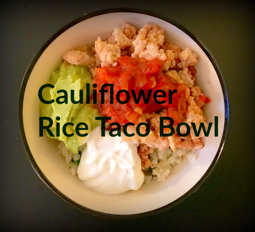 Feature Cauliflowerrice Taco Bowl 1024x934 - Taco Tuesday for People Who Hate Tacos