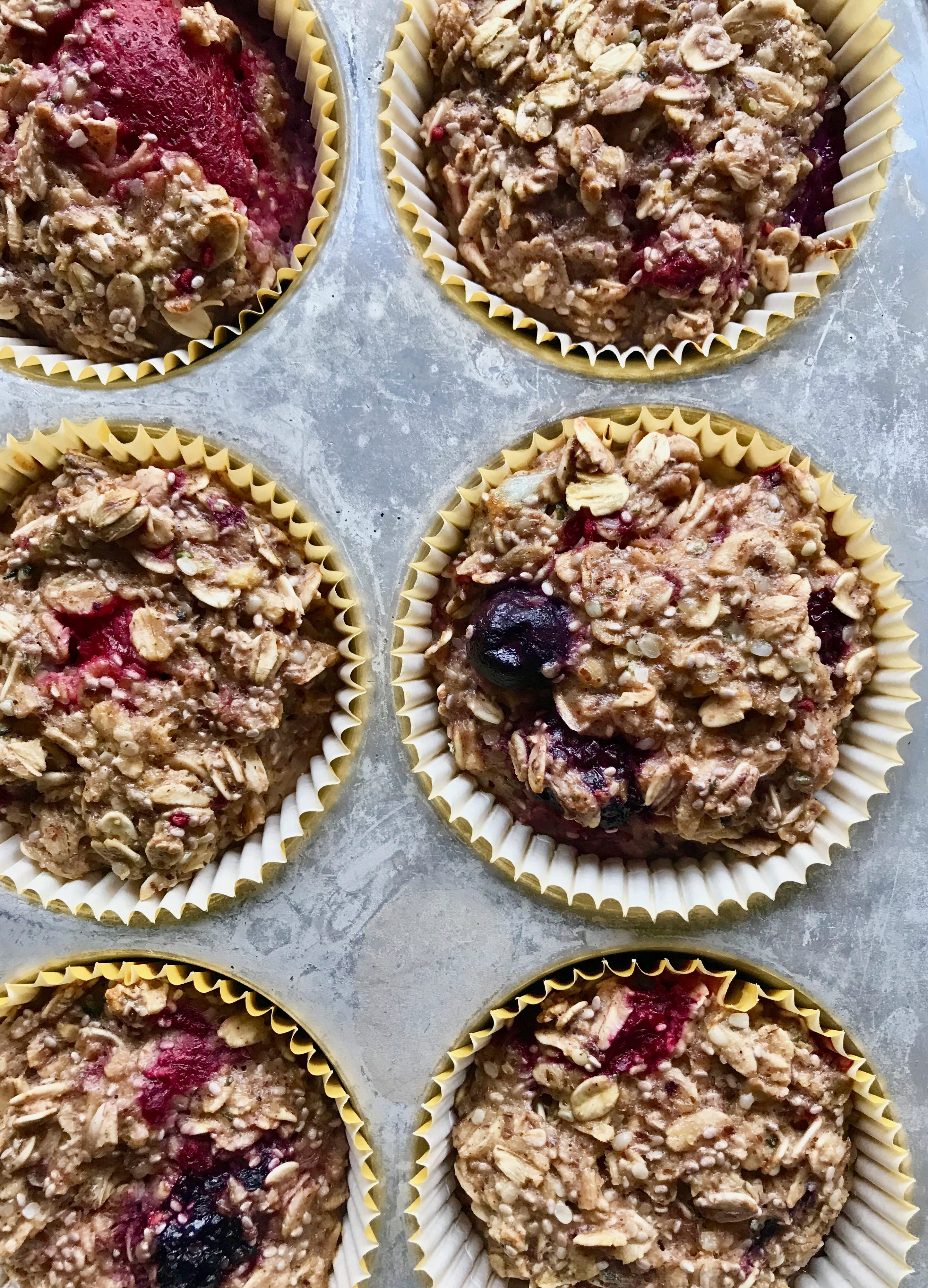Berry-Oat-Cups