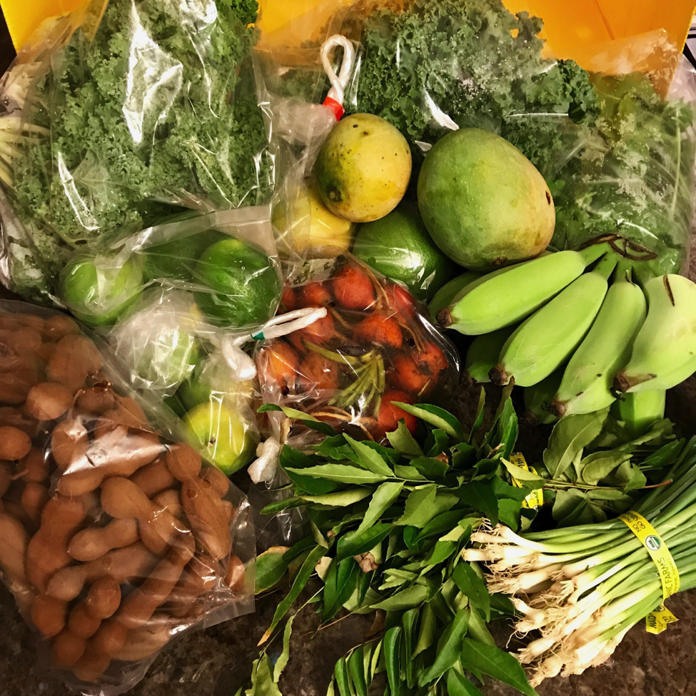 CSA box - Guest Post: What I Ate Wednesday, Hawaii Style