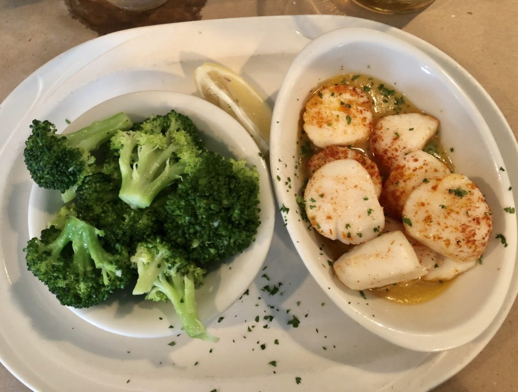 scallops-broccoli