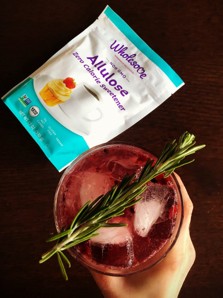 AlluloseMocktailAbove UpdatedPackage 768x1024 - Blackberry Rosemary Sparkler